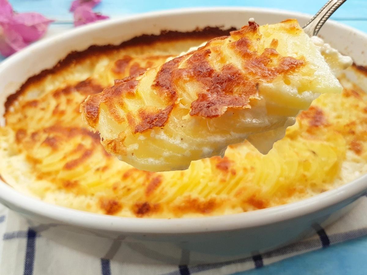Рецепт картошки гратен с фото
