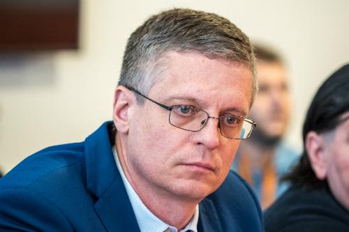 заместитель главы администрации Центрального района Дмитрий Бурдов