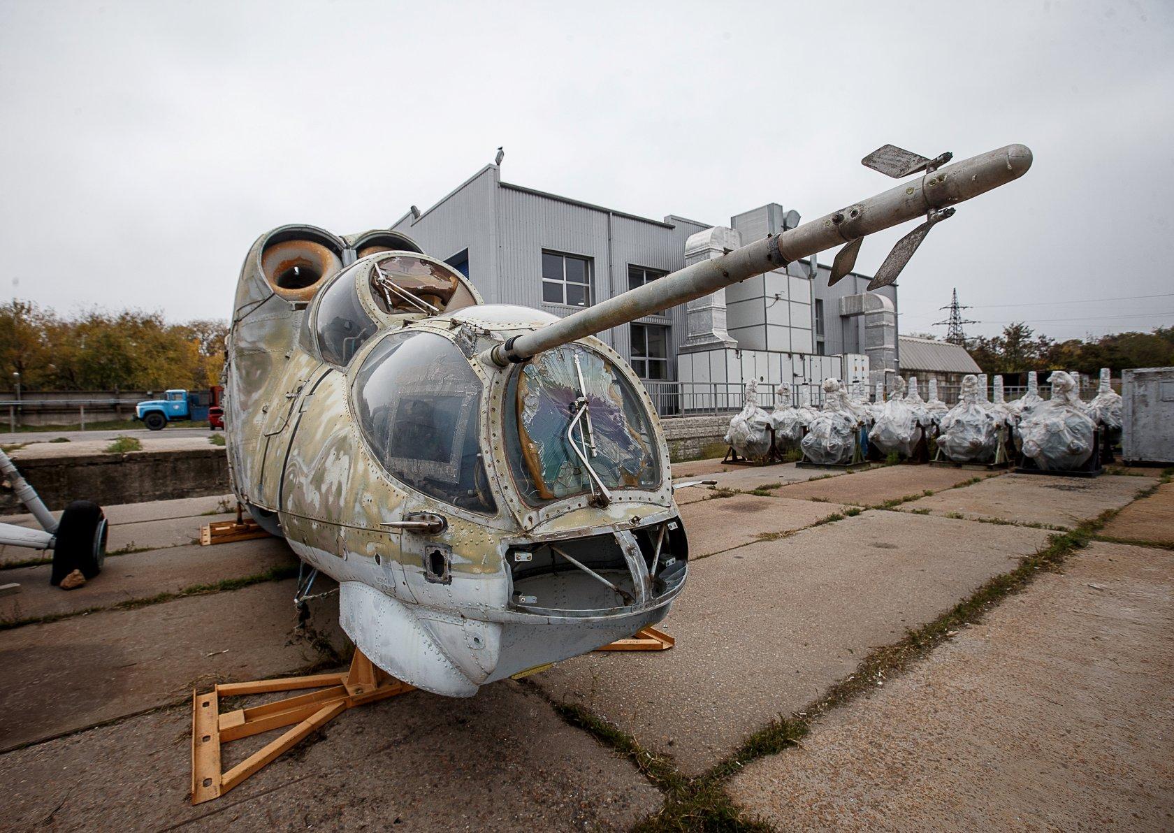 «Мотор Сич» берется за дело: вертолеты со свалки будут как новенькие