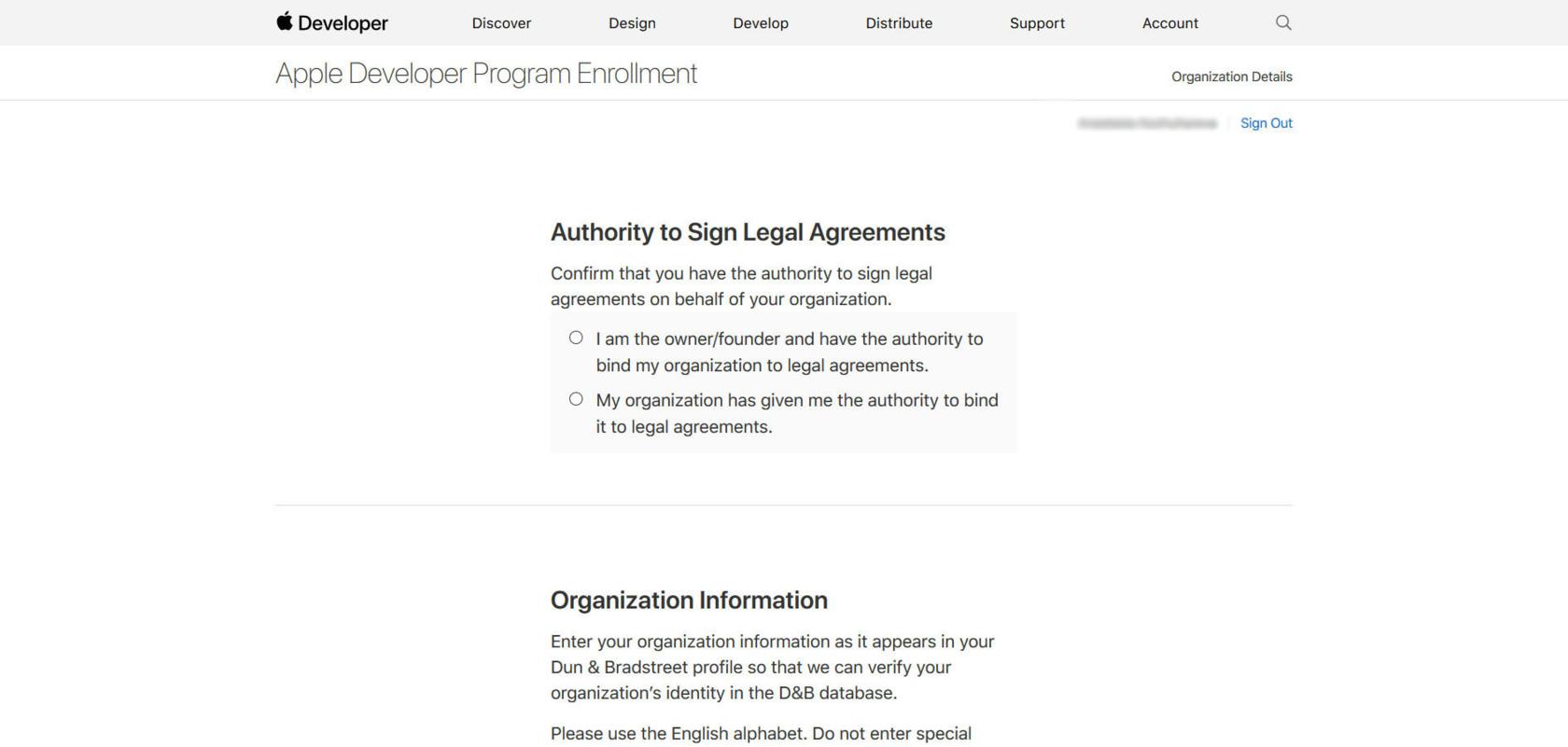 Регистрация аккаунта разработчика в App Store для компаний