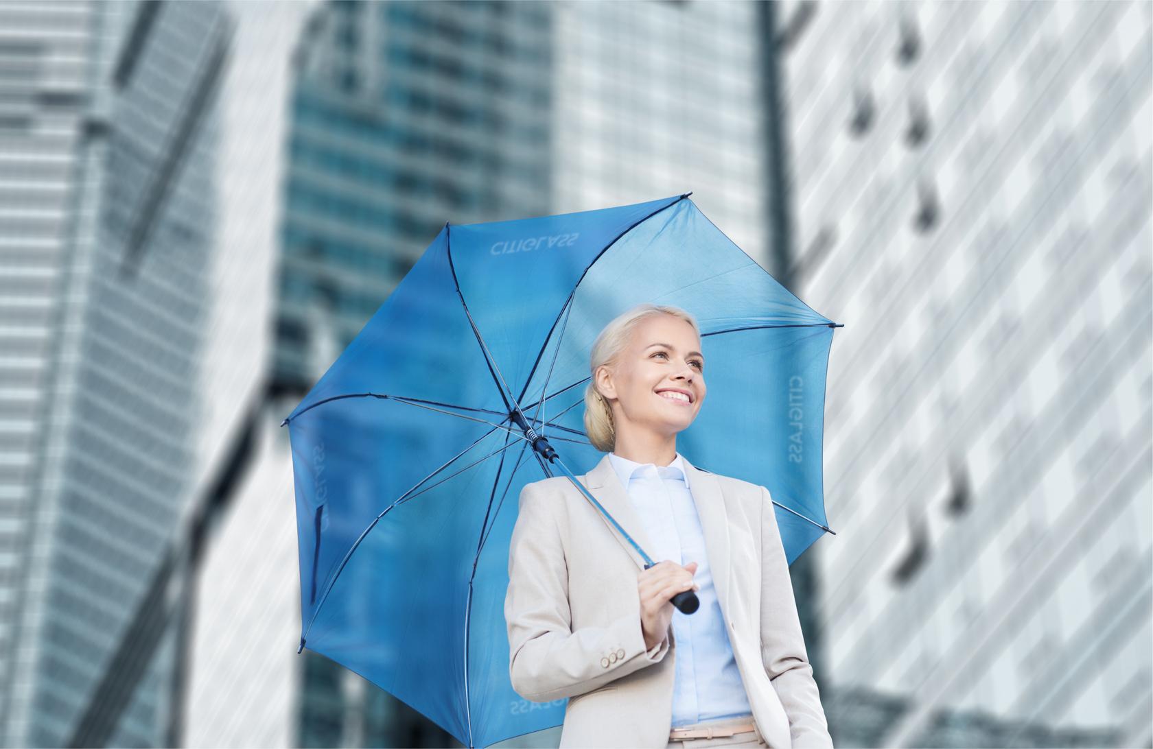 Фирменный зонт