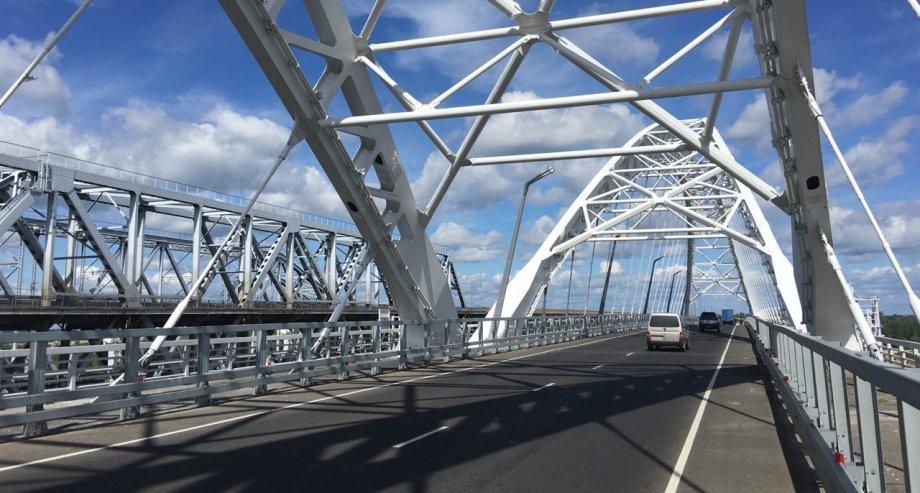 Министр транспорта Максим Соколов подчеркнул, что новый мост в Нижнем Новгороде стал самым большим дорожным объектом, введенным в стране в строй в этом году (фото: ГиД)