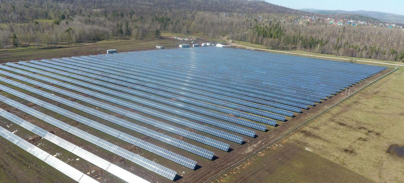 В России появится жилой дом с солнечными панелями