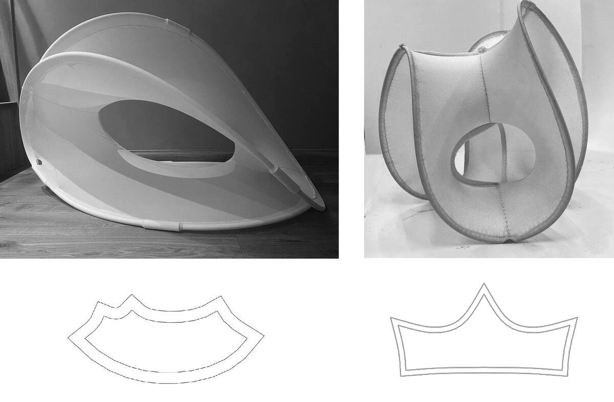 изгибно-активная структура bending active анатомия конструкций марш выкройки