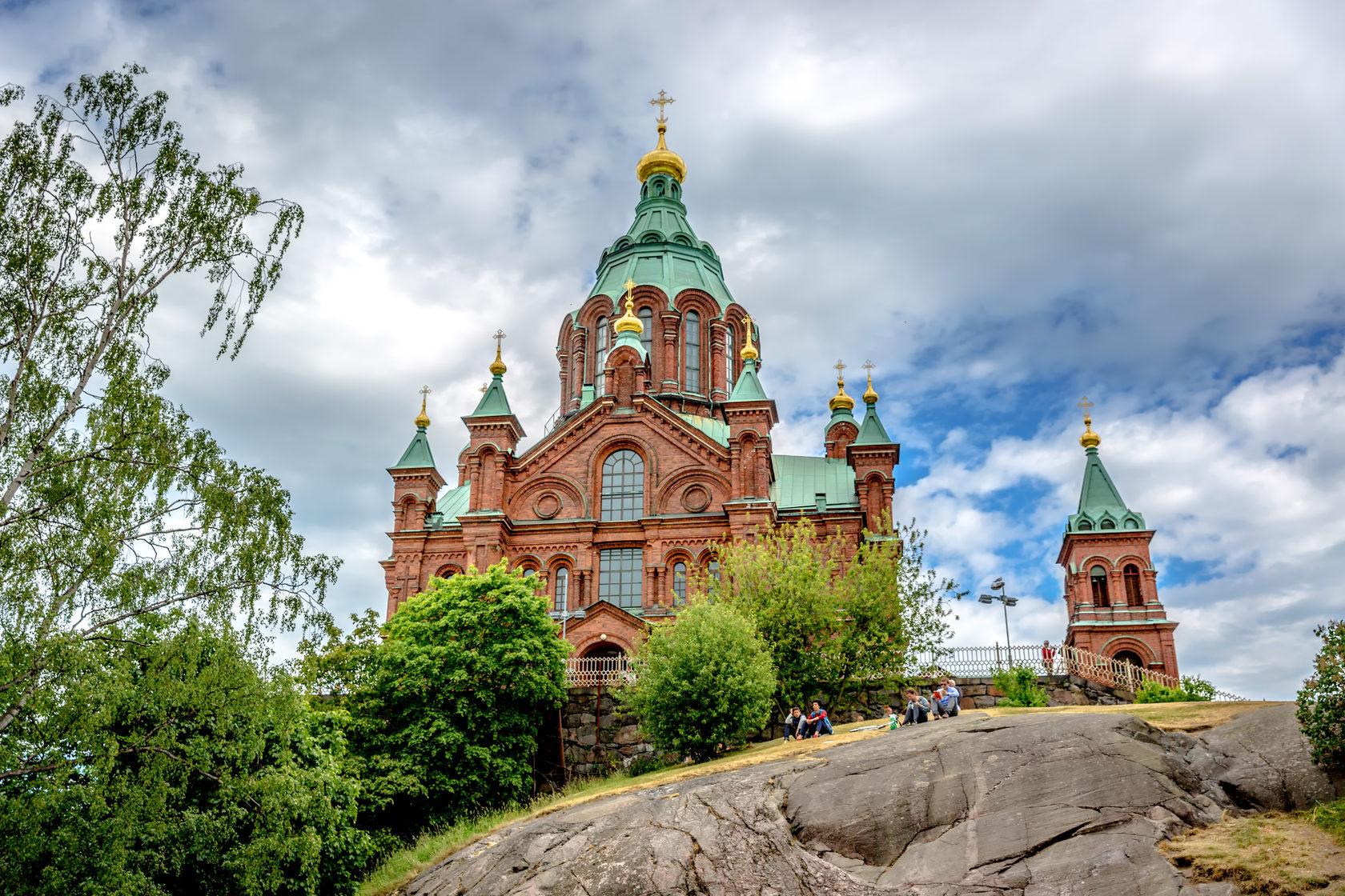 Успенский собор в Хельсинки | церкви и соборы в Хельсинки