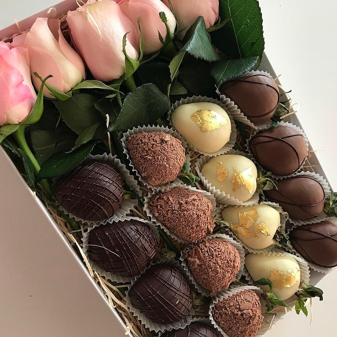 картинки с шоколадными конфетами и цветами сайт