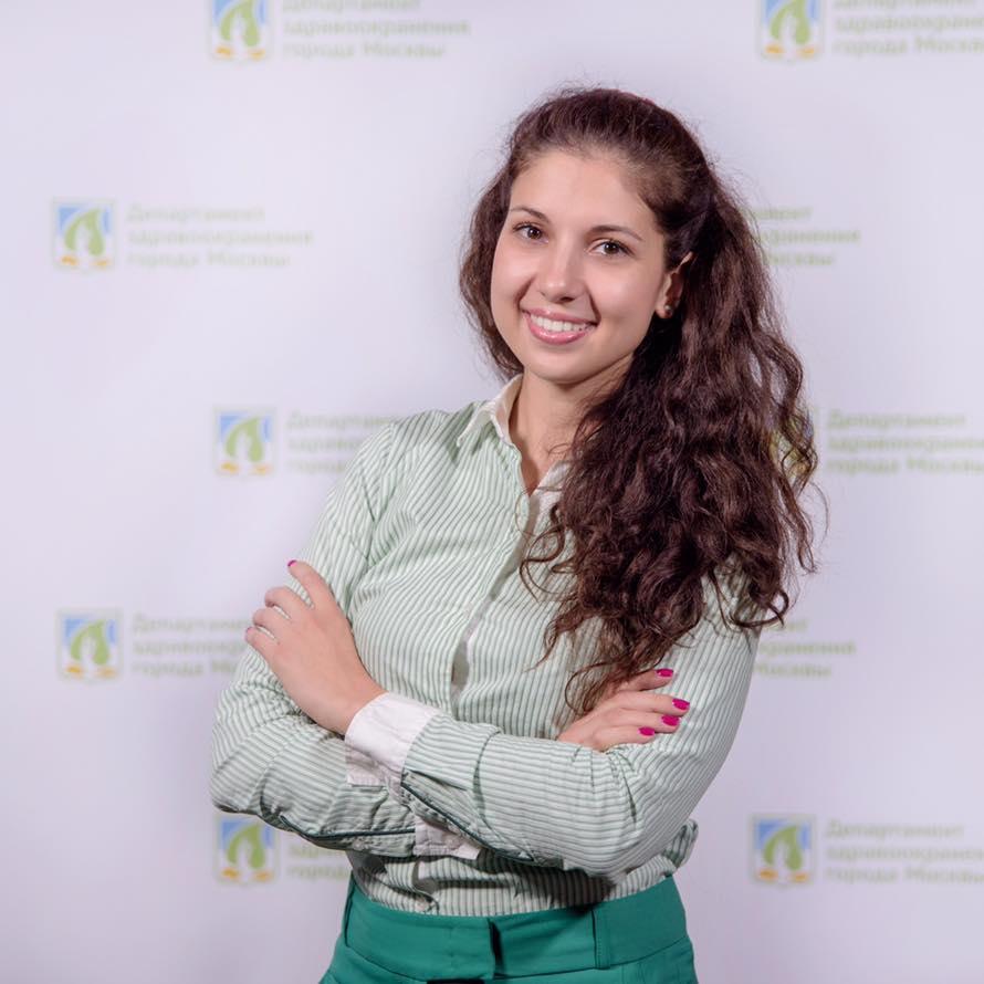 Валерия Таслицкая. Руководитель Службы качества Ситуационного центра Департамента здравоохранения Москвы