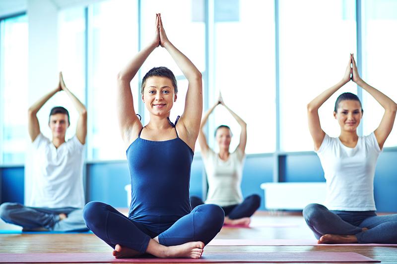Групповые йога тренировки