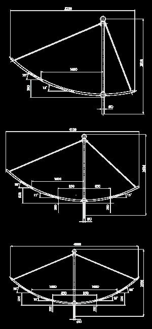 Кронштейн для консольных светильников — «Флагман»