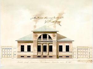 Дом Паткуль в 1846 г.