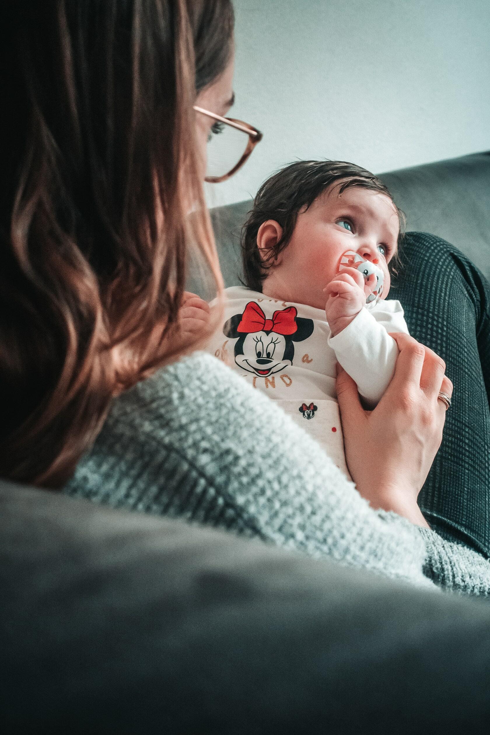 Foto van een baby uit fotografie collectie mensen van Simon Wijers