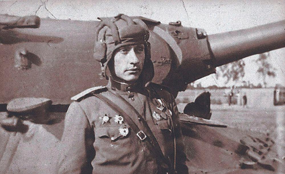 танкист герой войны Зиновий Григорьевич Колобанов