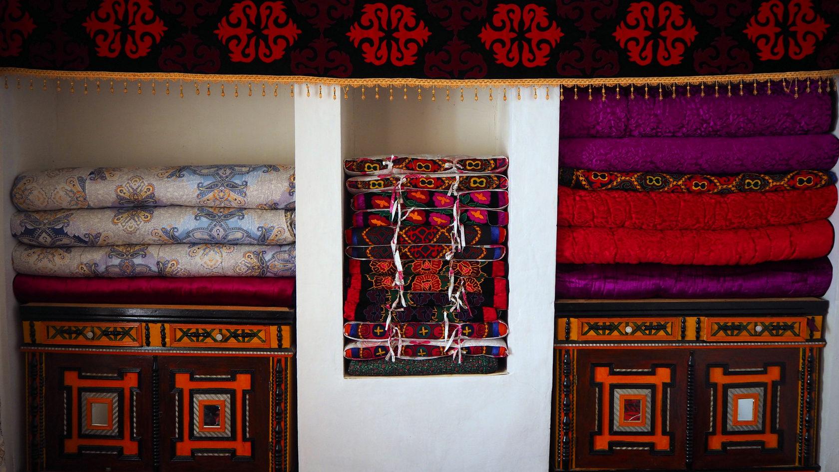 убранство Кыргызского дома