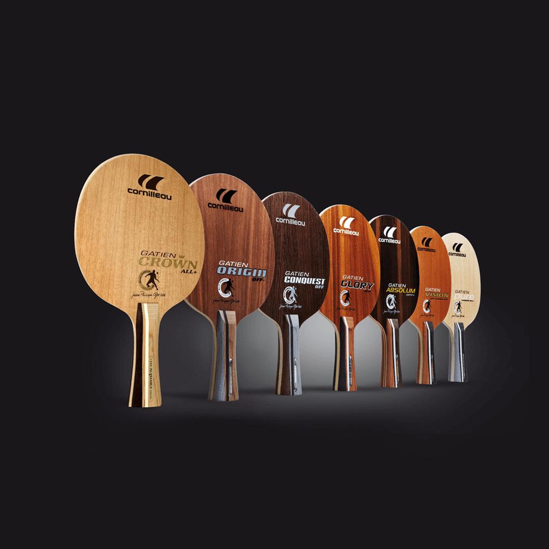 Основания ракеток для настольного тенниса Cornilleau Gatien