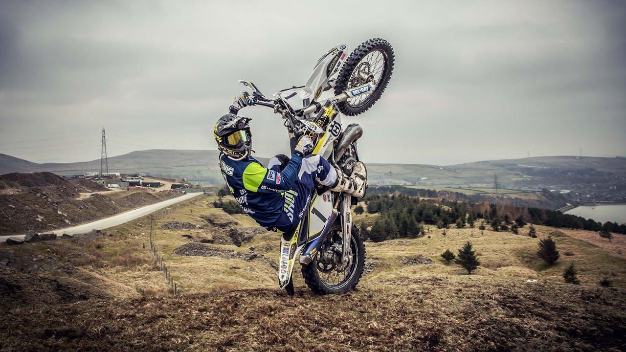Грэм Джарвис делится секретами управления эндуро-мотоциклом
