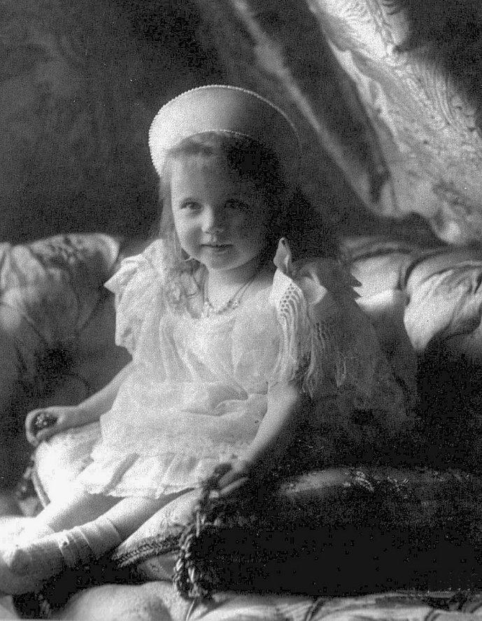 Великая княжна Анастасия 1904 год