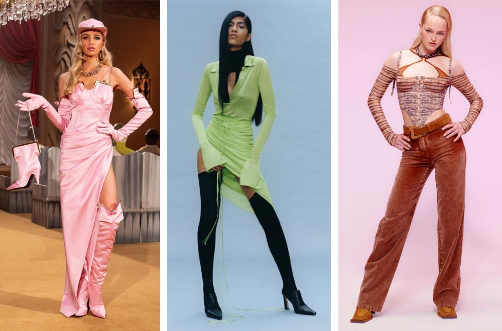 Завръщане към миналото със стил Pop Princess на световните модни колекции за 2021 и 2022