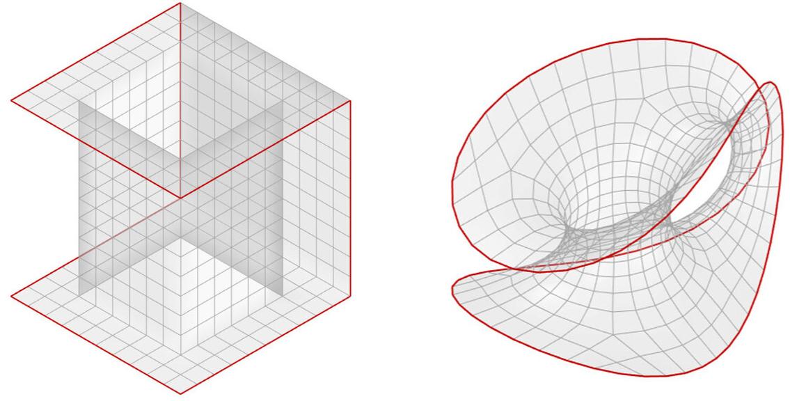 цифровое моделирование изгибно-активных структур в Kangaroo Physics