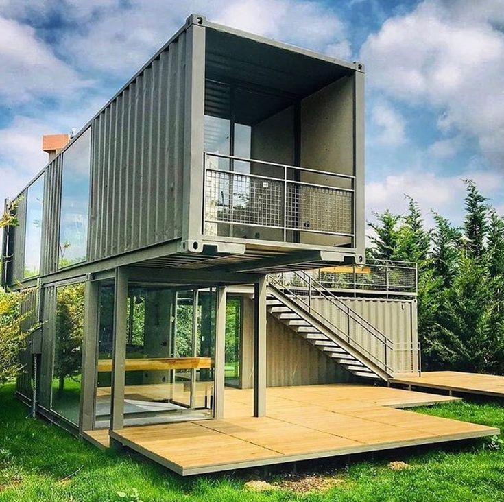 строительство дома из контейнеров фото городского