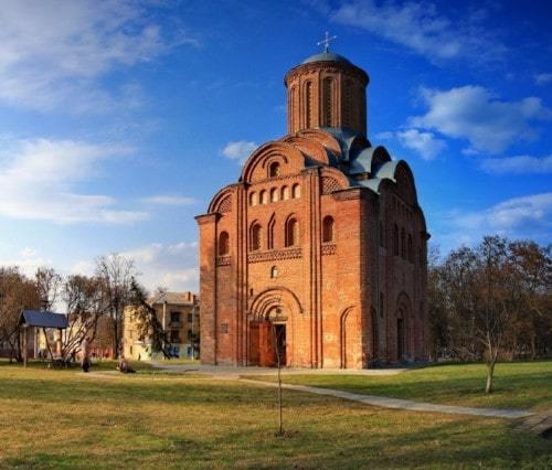 Пятницкий храм в Чернигове.