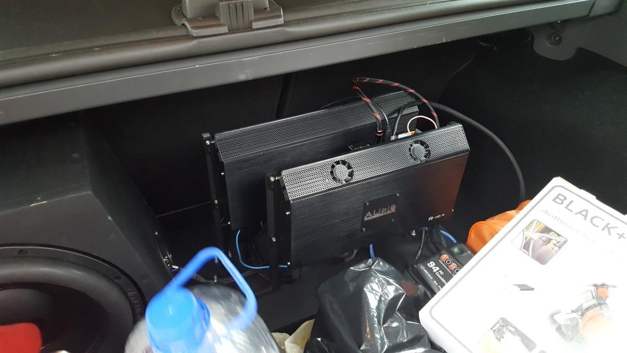 установка усилителей форд фокус 2