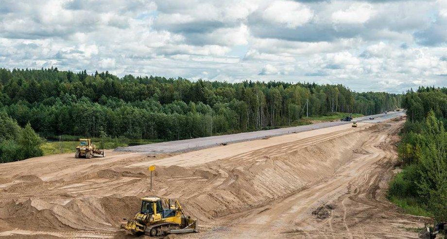 В настоящее время эксплуатируется лишь 120 км трассы из 670 км, запланированных к вводу в строй (фото: ГК «Автодор»)