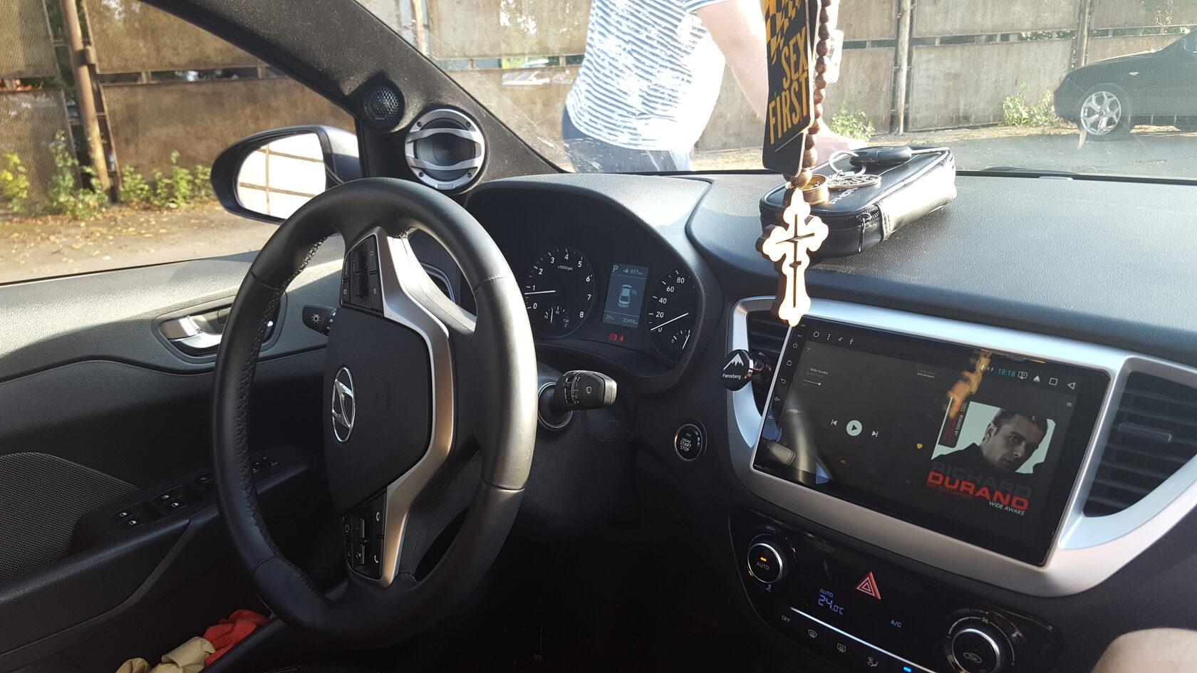 хендай солярис 2 тюнинг автозвук