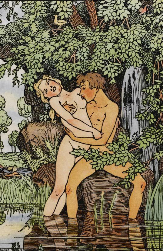 В 1916 году Константин Сомов продолжал рисовать фривольные иллюстрации для второго издания своей «Книги маркизы» — антологии французской эротической прозы XVIII века. ФОТО: АНРИ КАРТЬЕ-БРЕССОН, «ИНТЕРПРЕСС».