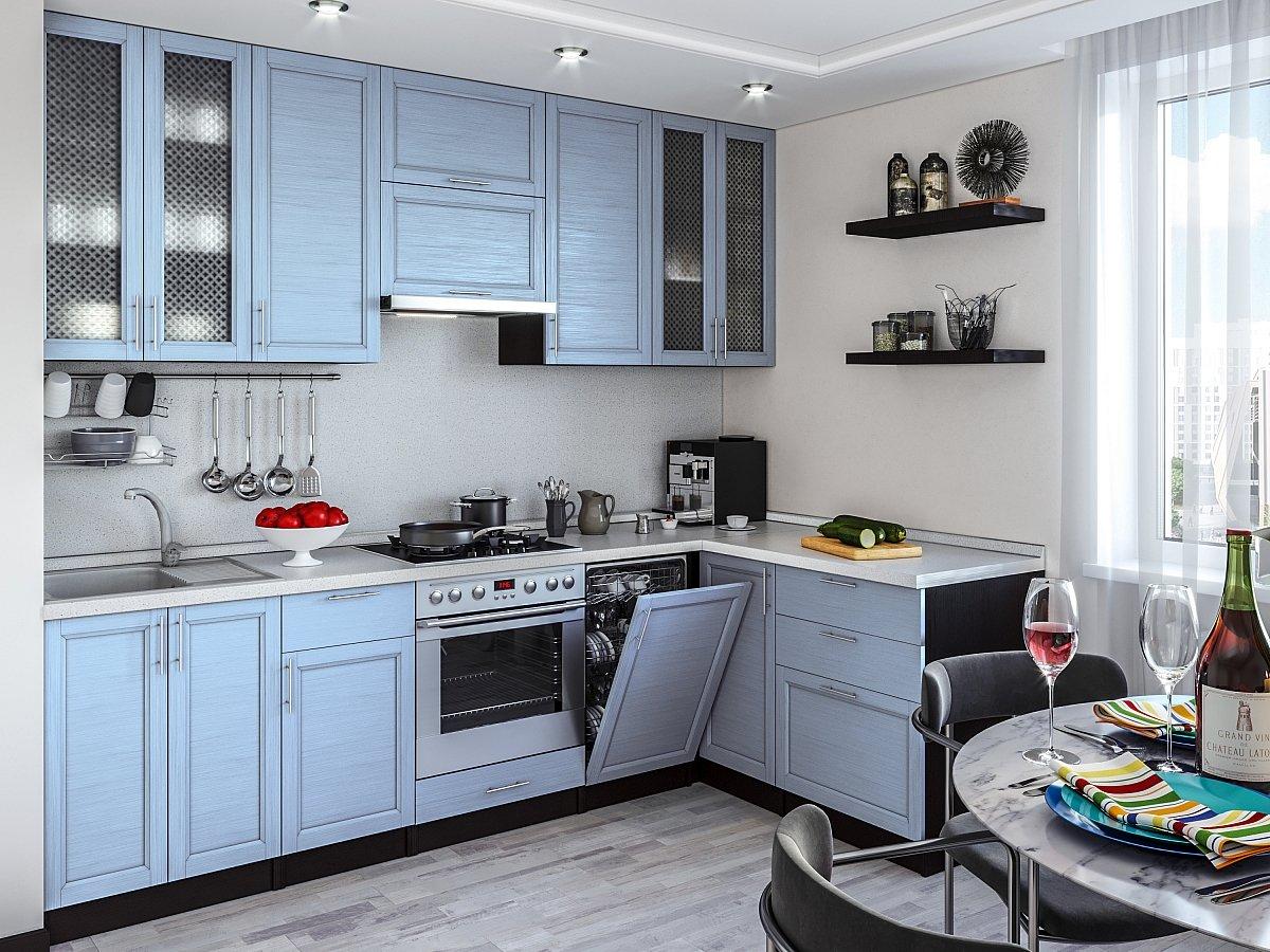 расположение кухонного гарнитура на кухне фото захаров