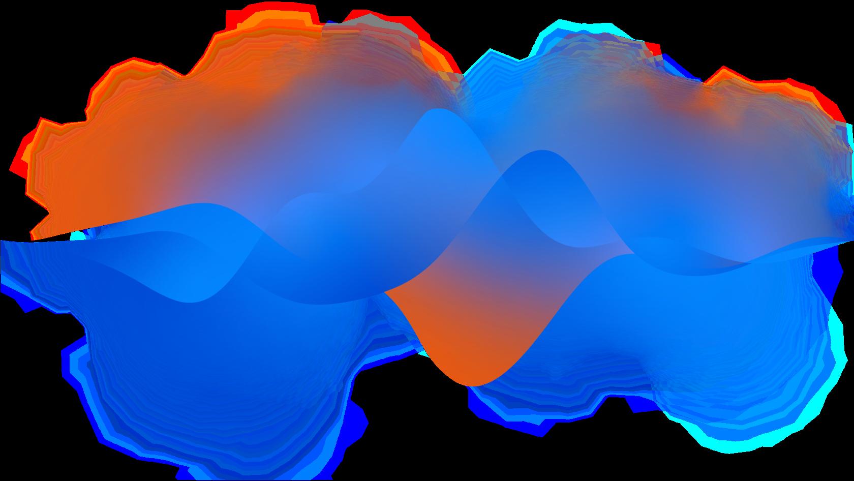 абстрактные голосовые волны