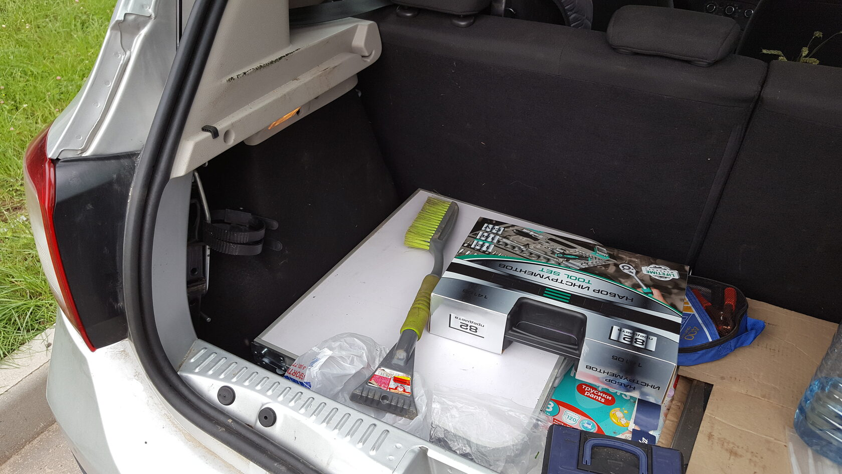 багажник рено степвей