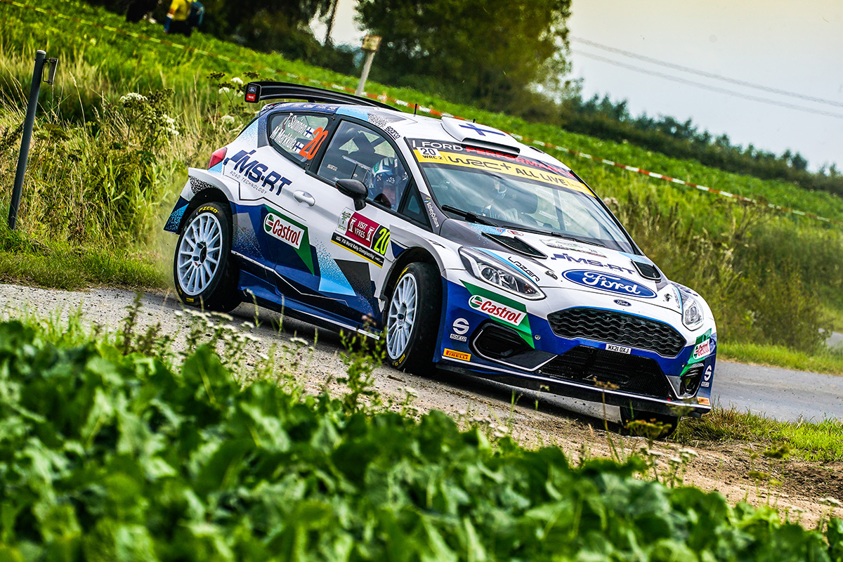 Теему Сунинен и Микко Марккула, Ford Fiesta Rally2, ралли Ипр 2021