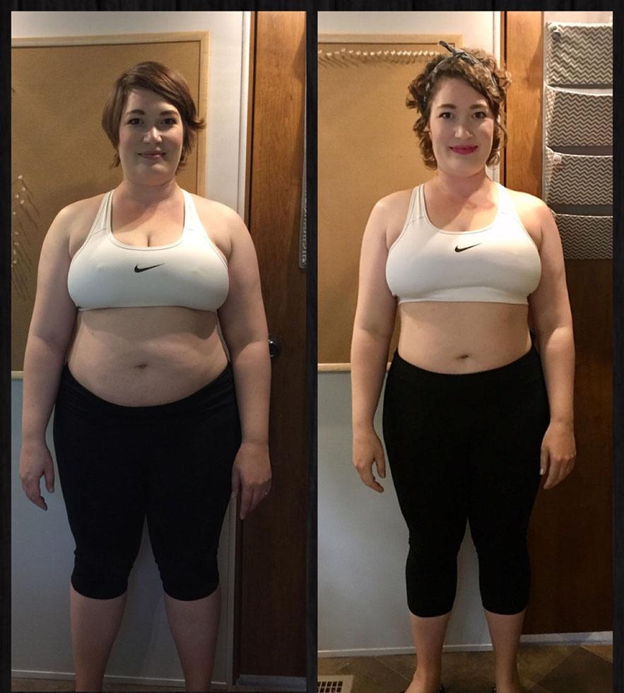 Похудела за месяц на 25