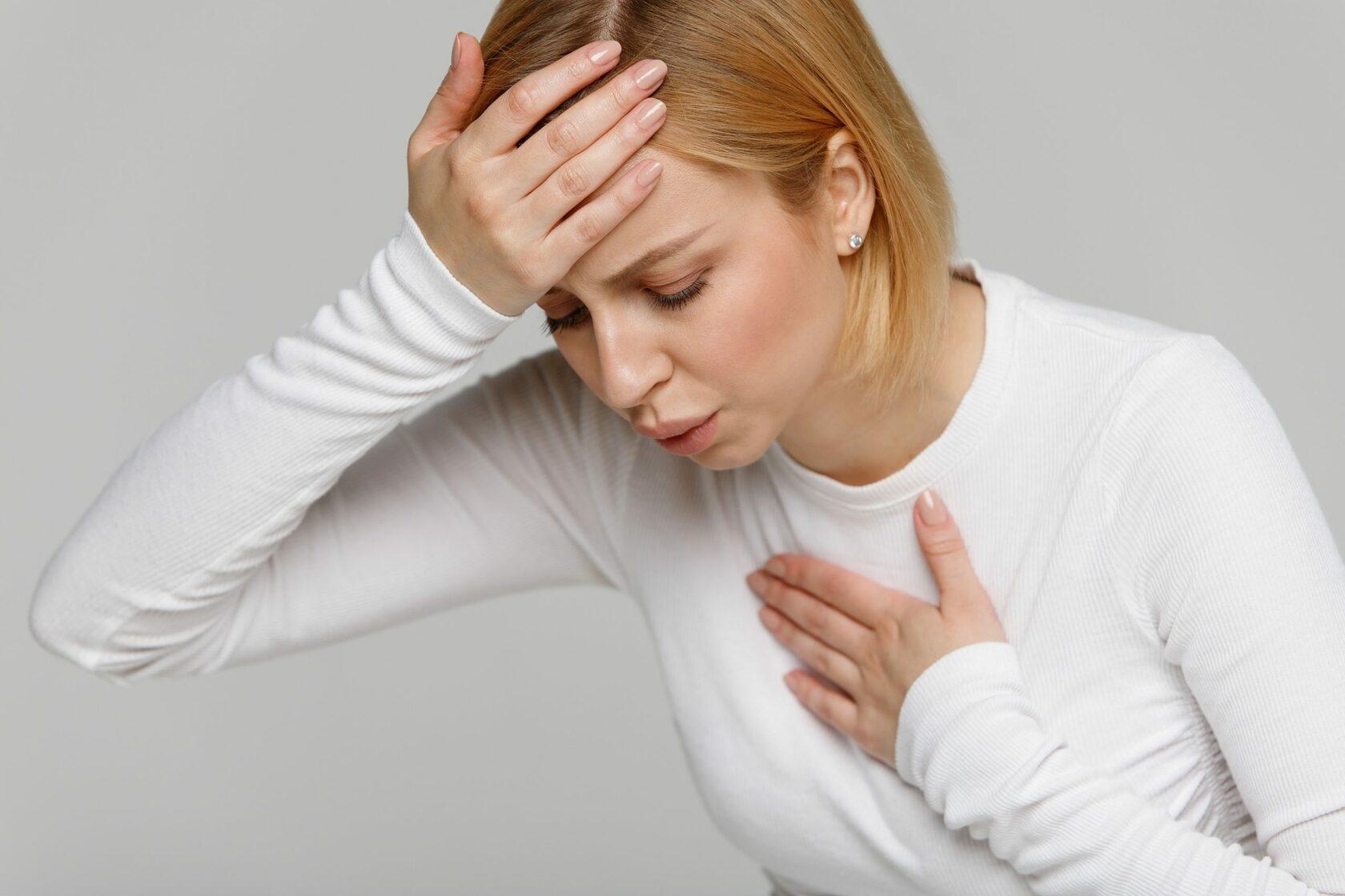 головокружение и боль в груди
