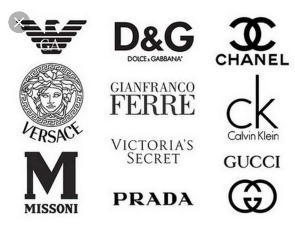 Примеры наиболее популярных брендов одежды. Фото из Яндекс.Дзен