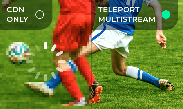 Teleport Media Multistream