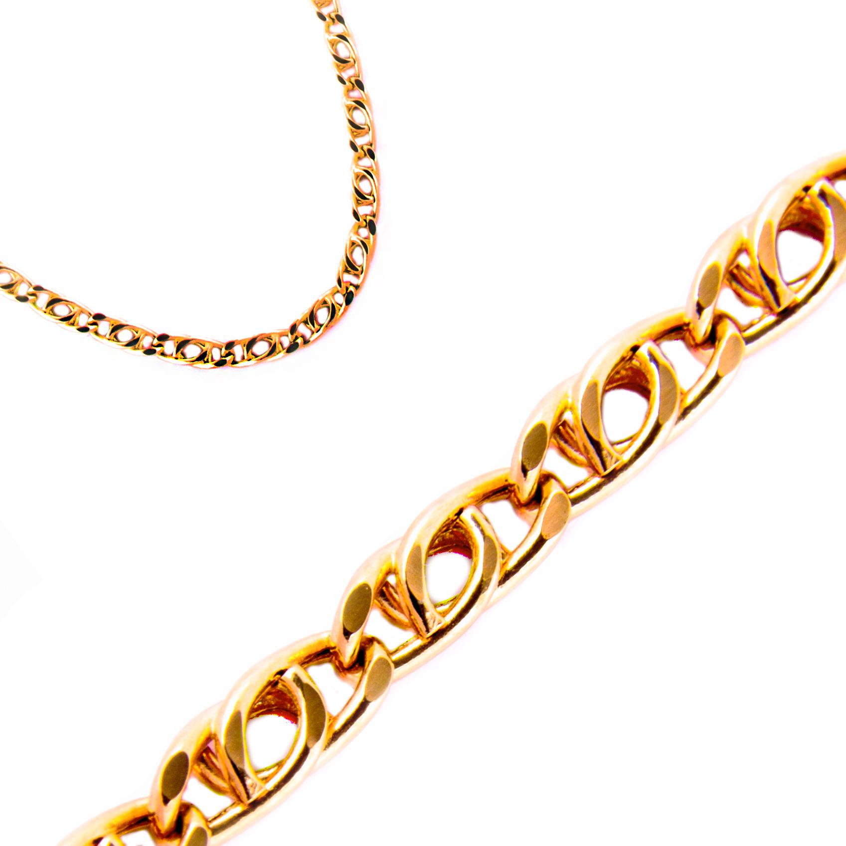купить золотую цепочку в москве недорого