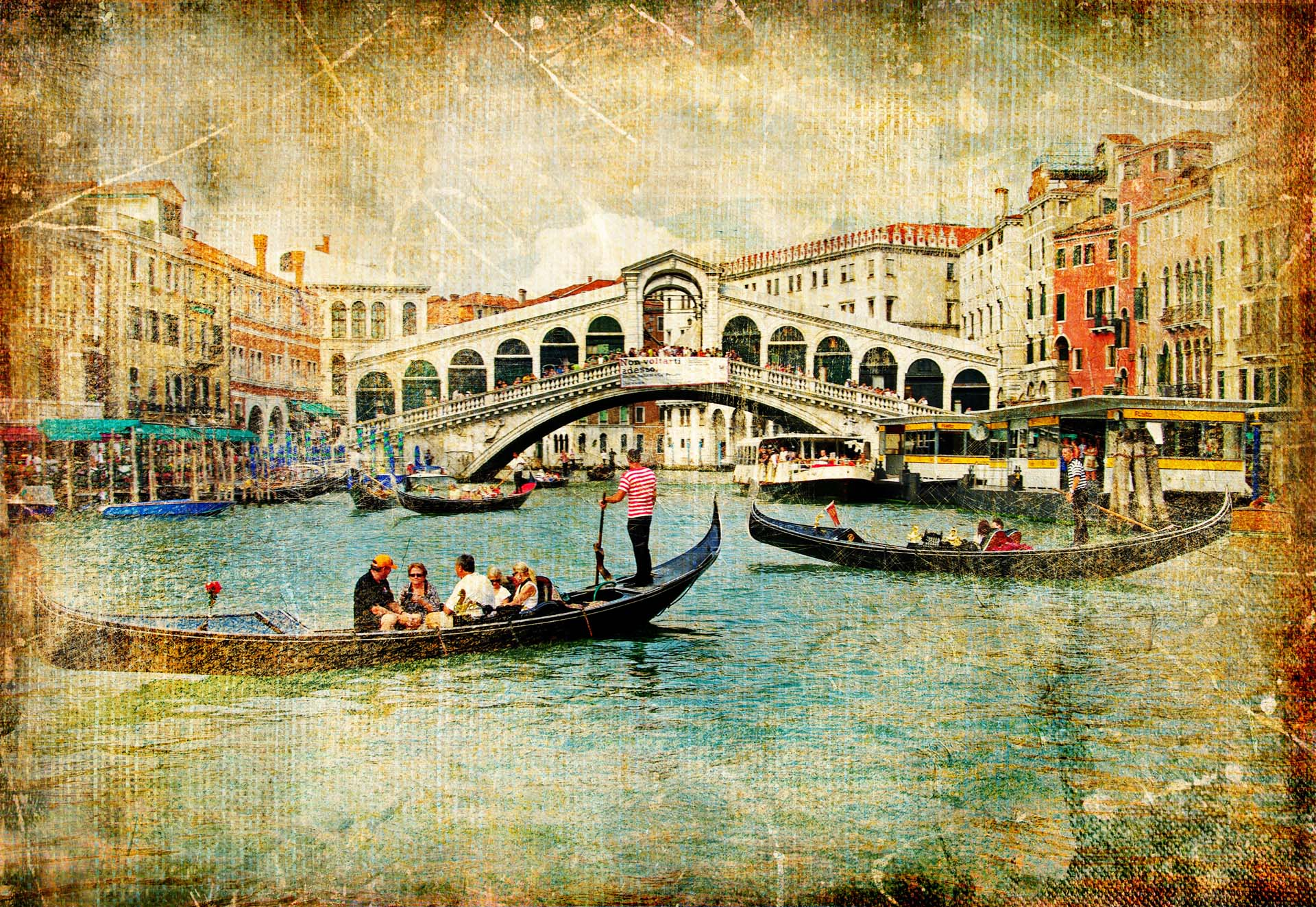 Ретро города открытки