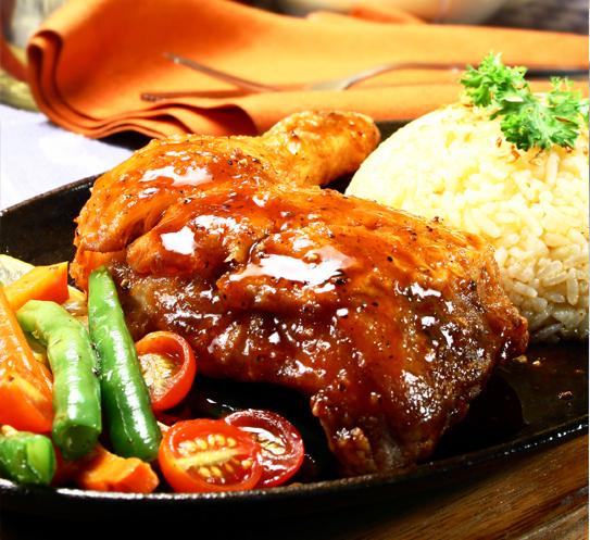 Пилешки бутчета с Перлен ориз Krina