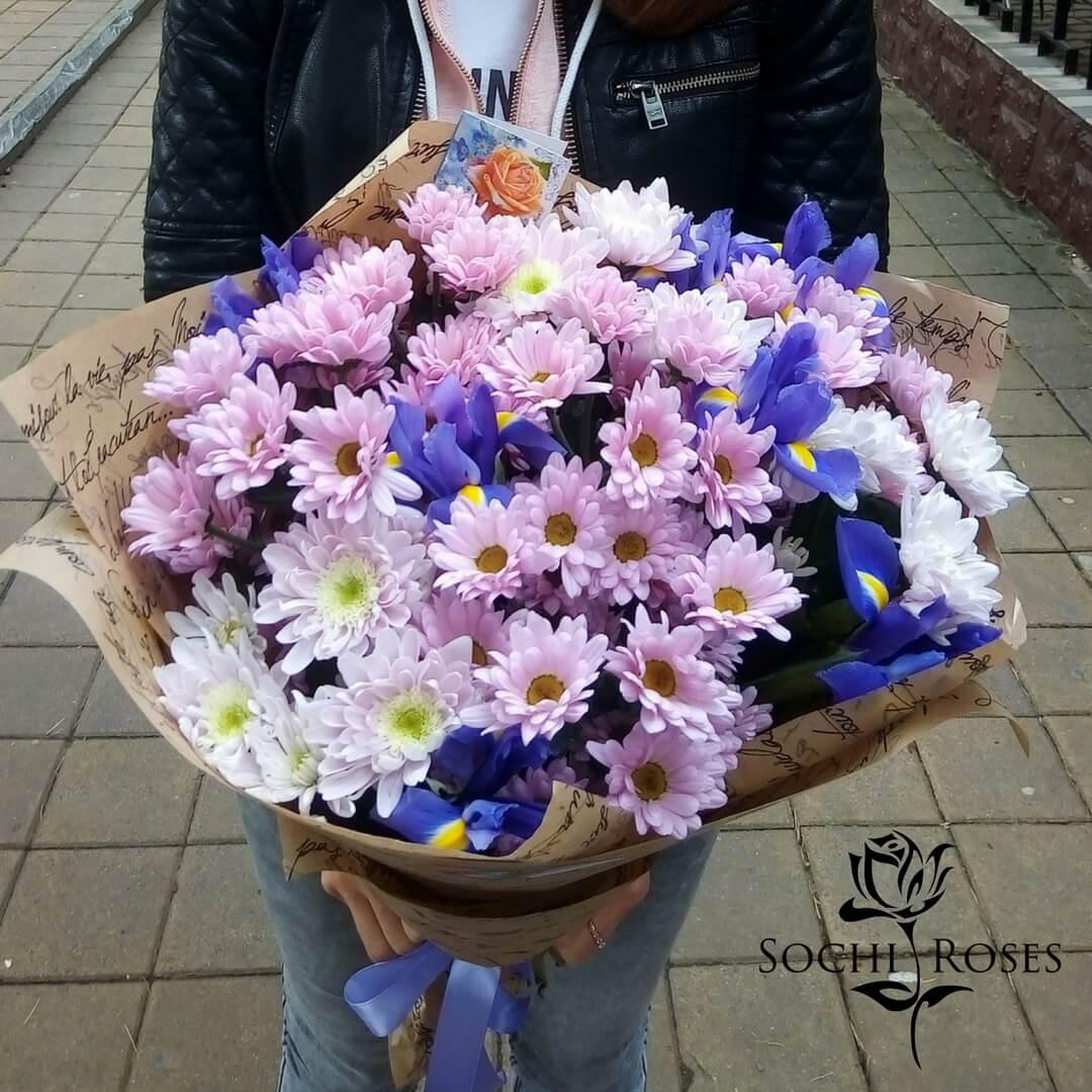 Заказ цветы в сочи на дом