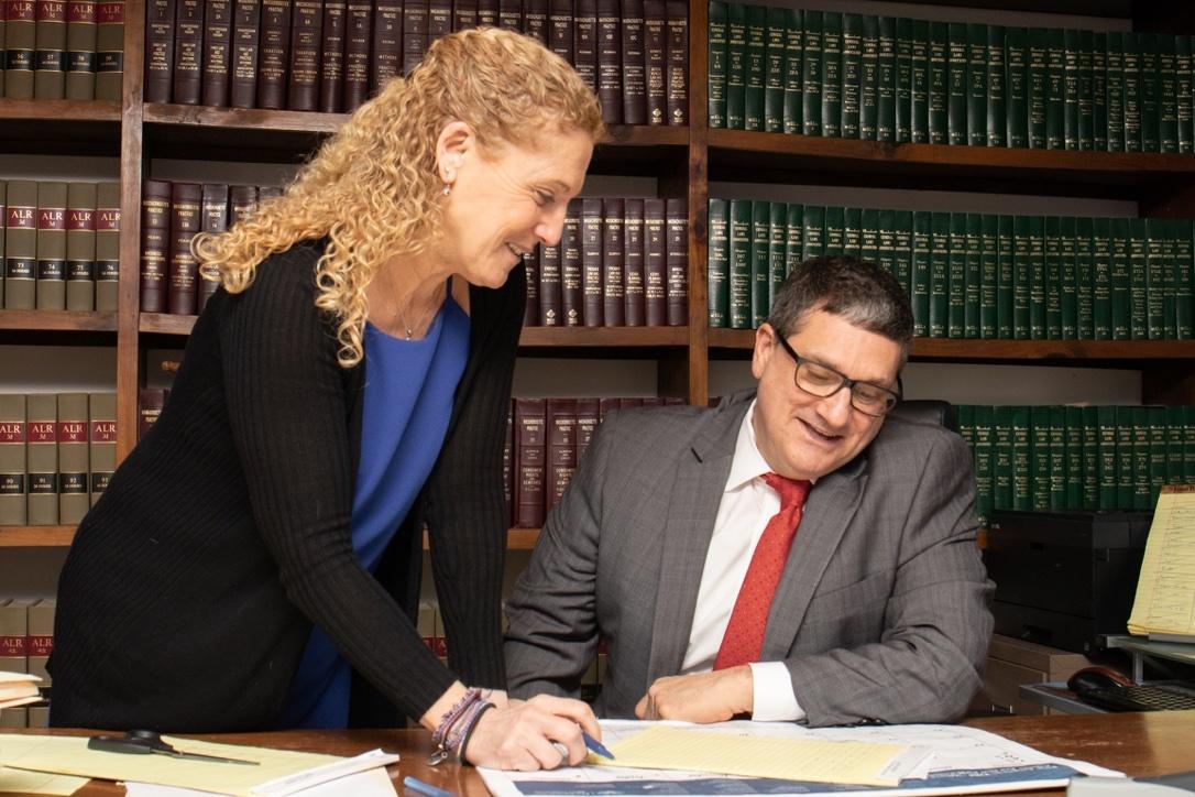Karen Davis, Robert George. Sturbridge, Law, Mediation
