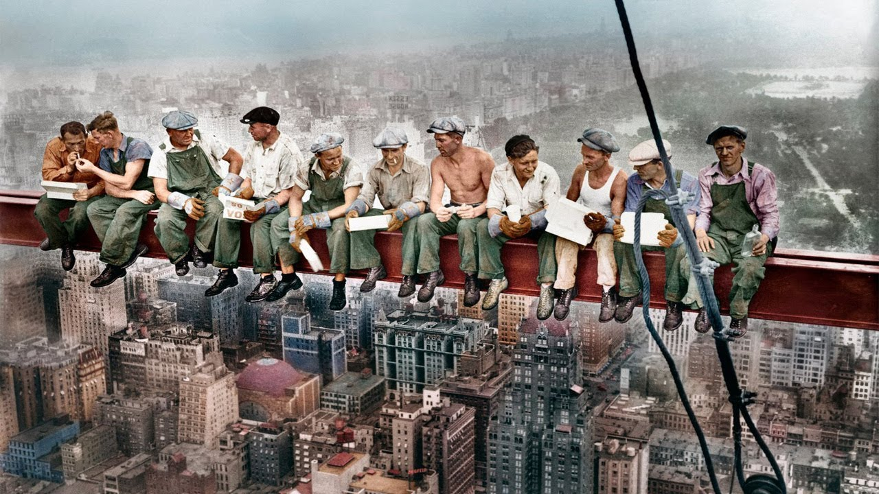 браке легендарное фото обед на высоте говорить, что воронежские