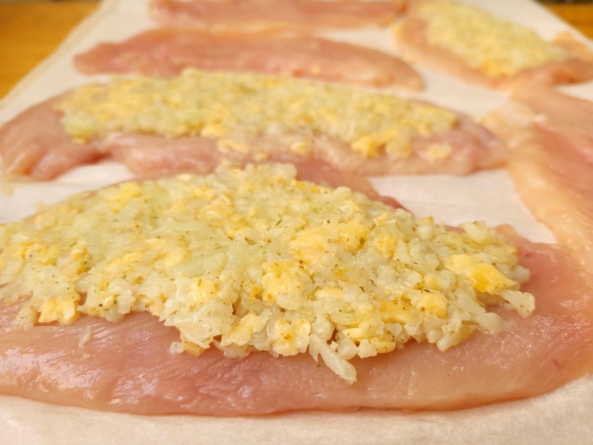 Куриные шницели с начинкой. Блог Вкусный Израиль.