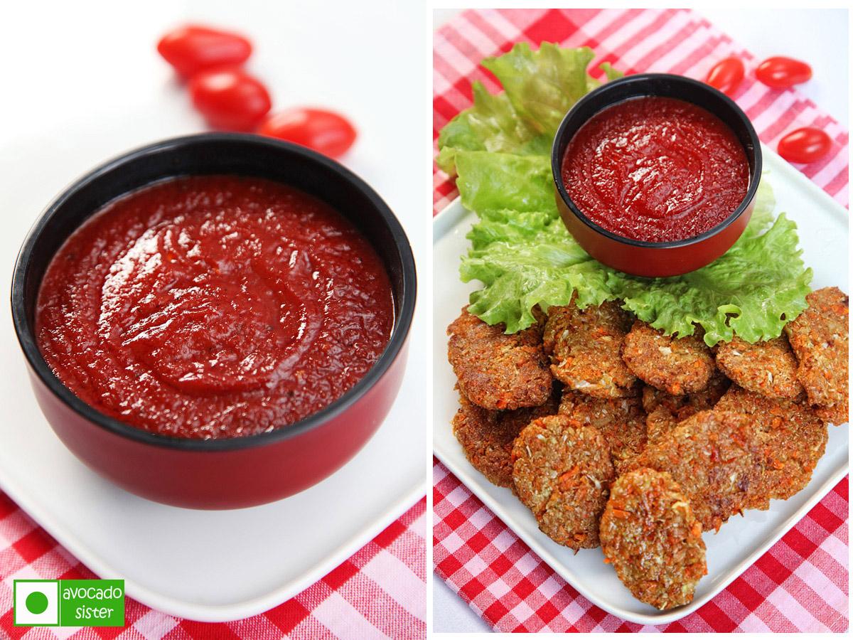 овощные котлеты томатный соус