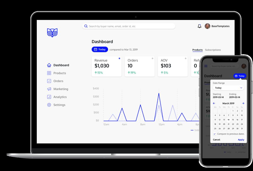 dashboard redesign case study