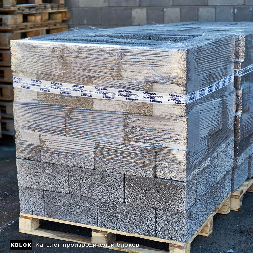 упаковка блоков