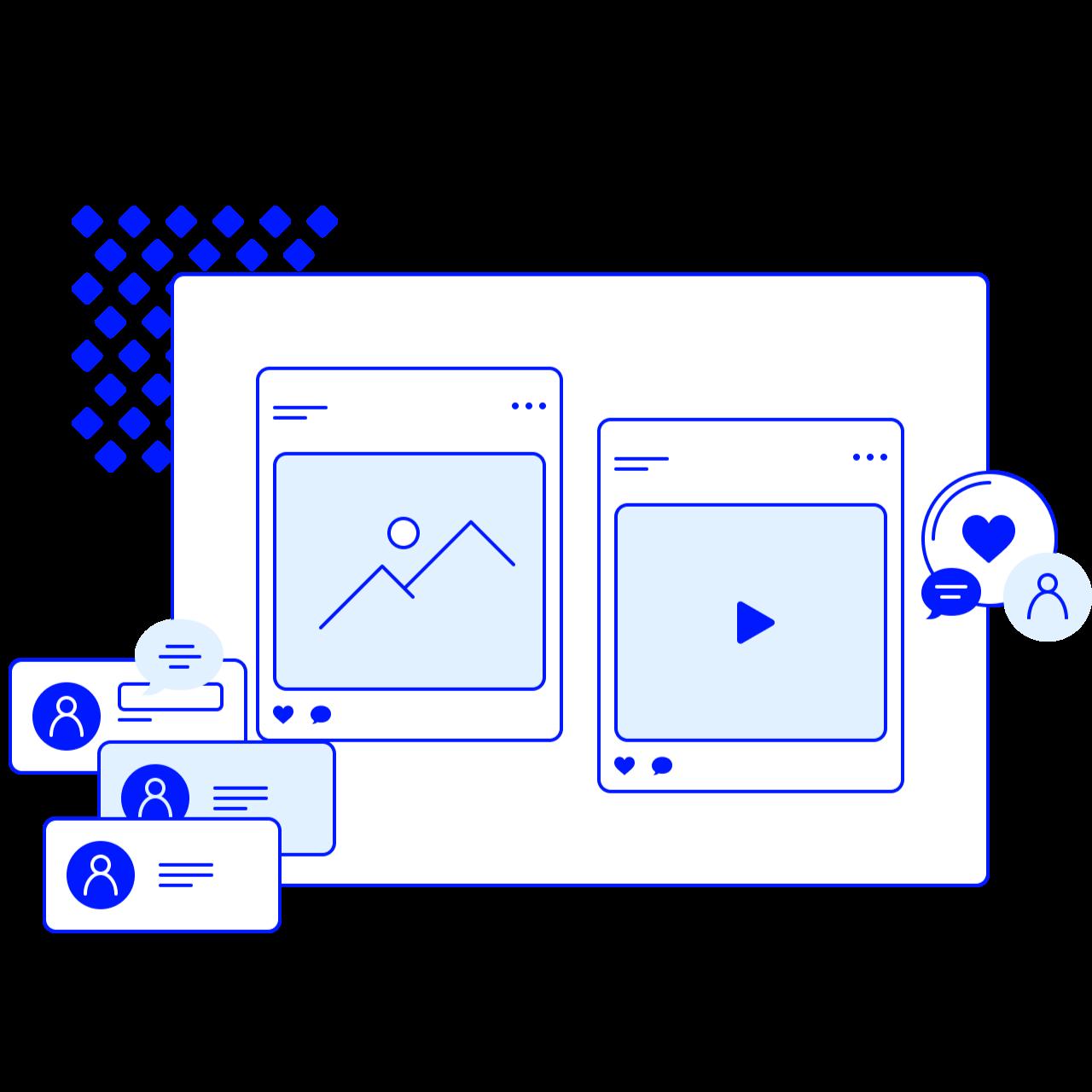 Обложка набора иллюстраций Proline для веб разработчиков и сайтов
