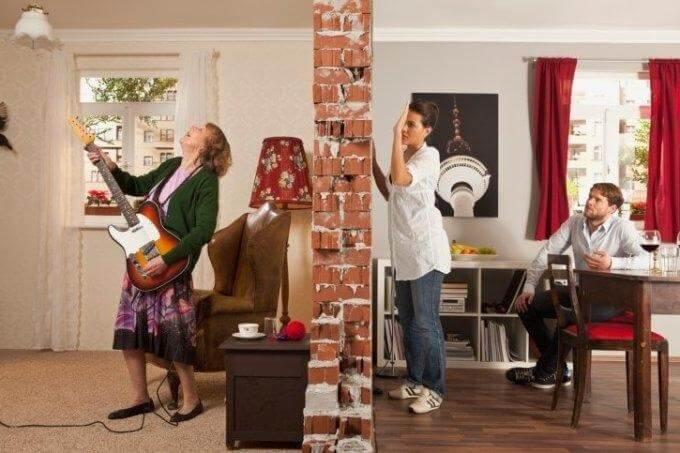 Шумоизоляция квартиры - типовой дом