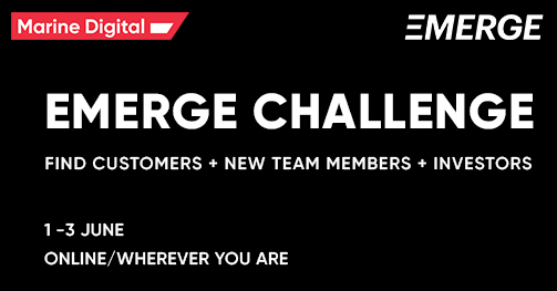 Marine Digital is going to the final of EMERGE CHALLENGE