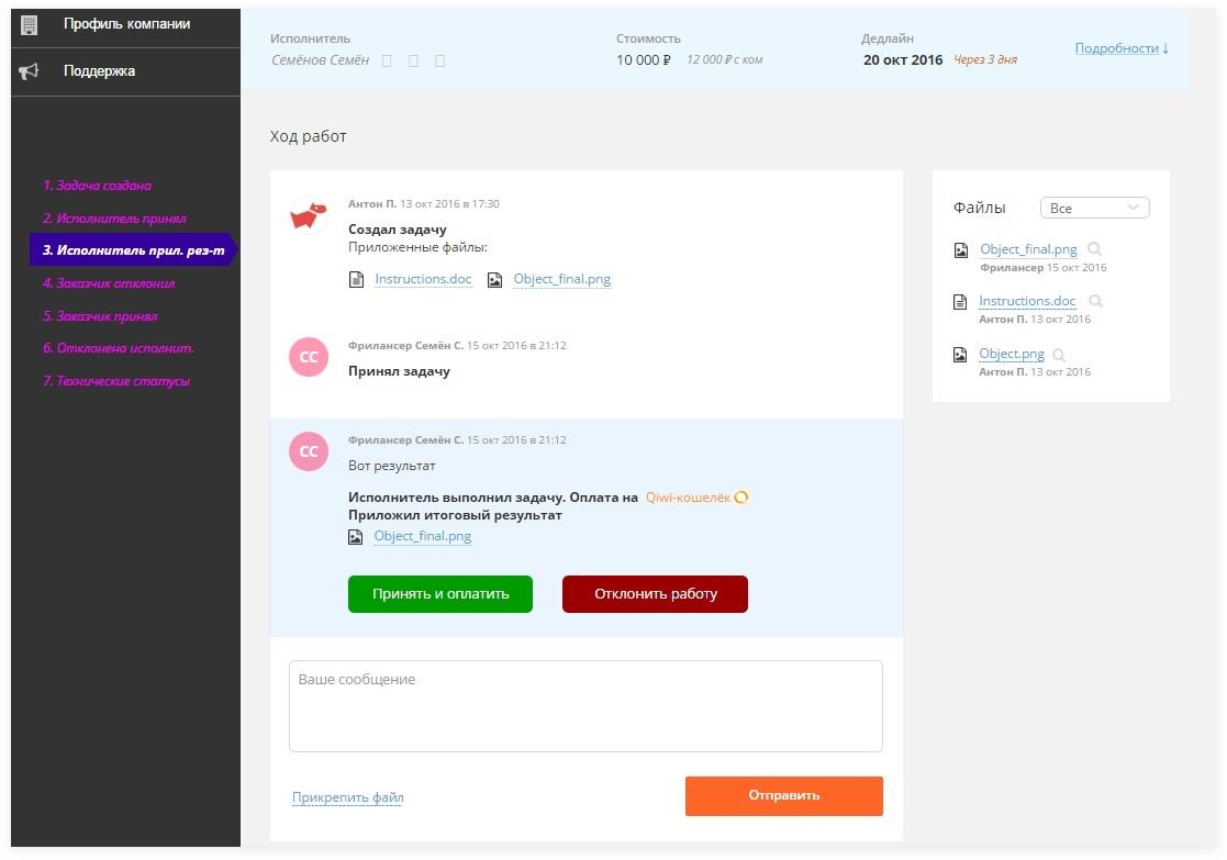 Предложенный вариант страницы задачи | SobakaPav.ru